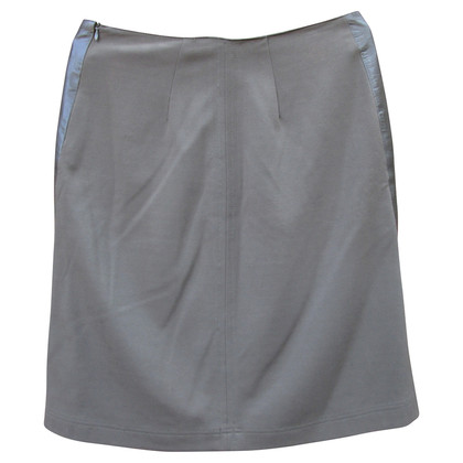 Max Mara lether skirt