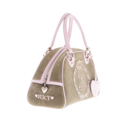 Juicy Couture Green Velvet tas