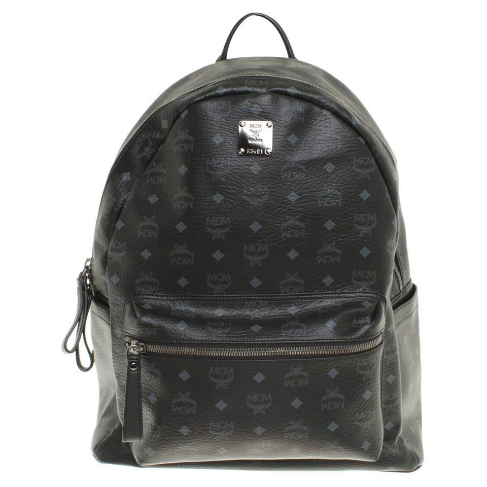 "MCM ""Stark Backpack Medium Cognac"""