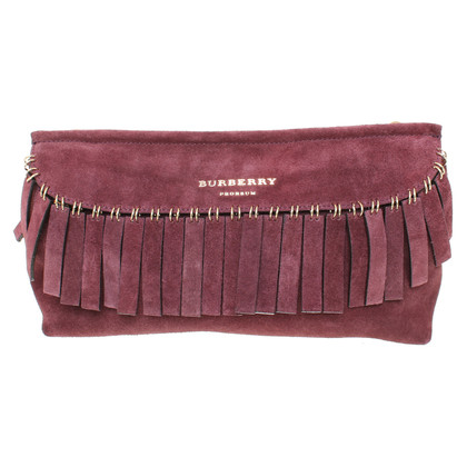 Burberry Prorsum Schoudertas in Bordeaux