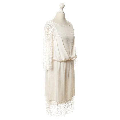 By Malene Birger Spitzenkleid in Creme