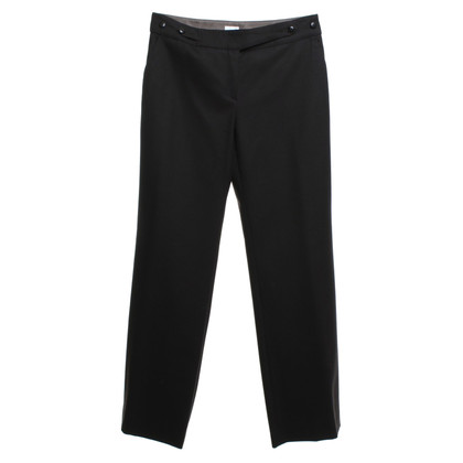 Armani Collezioni Wool trousers in dark brown
