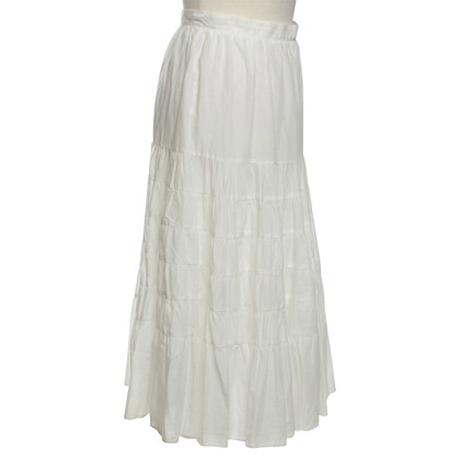 Maje skirt in white