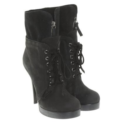 Giuseppe Zanotti Plateau ankle boots in black