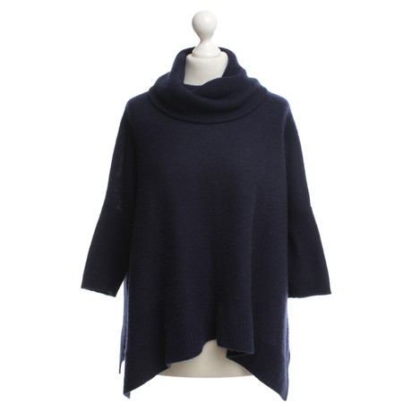 360 Sweater Kaschmirpullover in Blau Blau