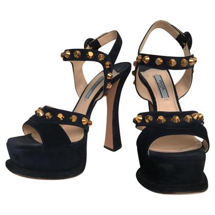 Prada Sandals with studs trim