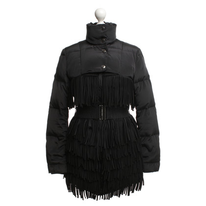 Balmain Down coat with fringe