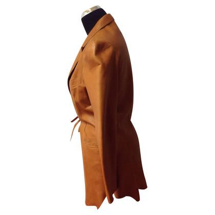 Jean Paul Gaultier Leather short coat