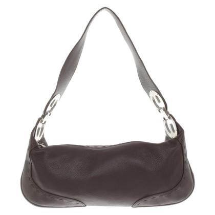 Escada Handbag in dark brown
