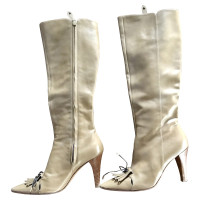 Moschino Cheap and Chic Boots in beige