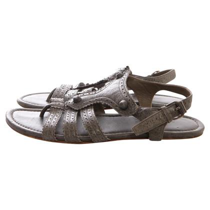 Balenciaga Mousegrey gladiator sandals
