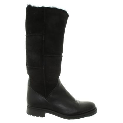 Aigle Boots in zwart