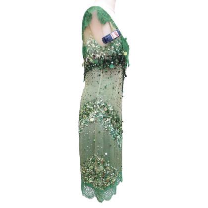 Dolce & Gabbana Pailletttenkleid met kant