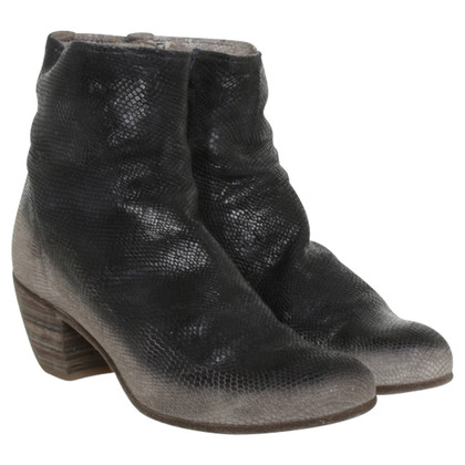 Officine Creative Ankle boots in black / grey