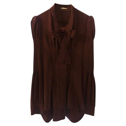 Oscar de la Renta Zijden blouse