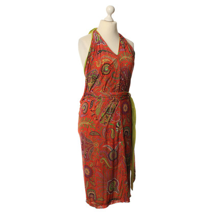 Etro Colorful wrap dress