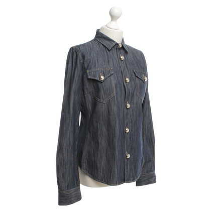 Dsquared2 Jeans blouse in dark blue