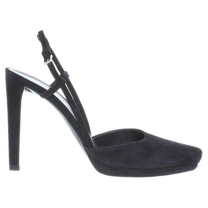 Jil Sander Sling-back in zwart