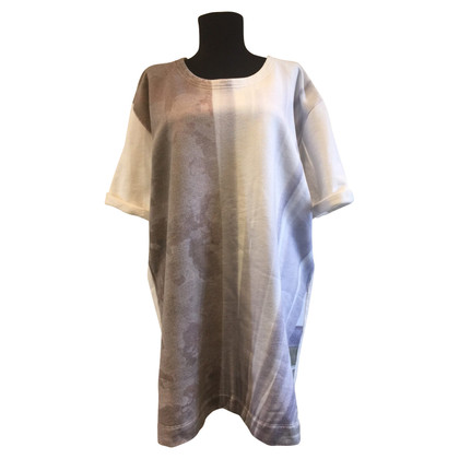 MM6 by Maison Margiela T-shirt oversize con stampa