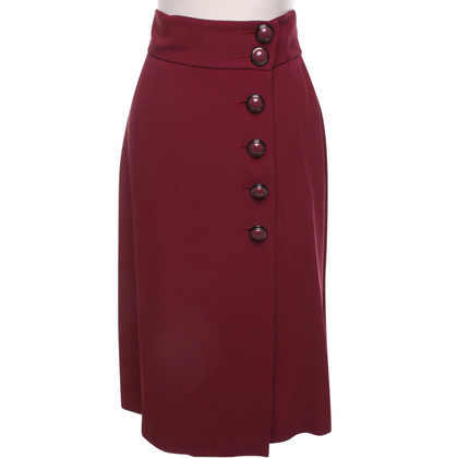 Red Valentino skirt in Bordeaux