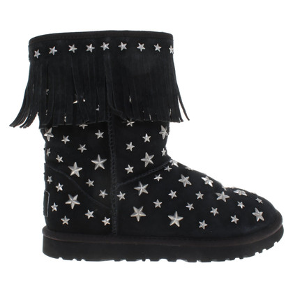 UGG & Jimmy Choo Boots with fringes