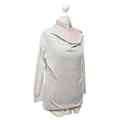 Fabiana Filippi Sweater in grey / beige