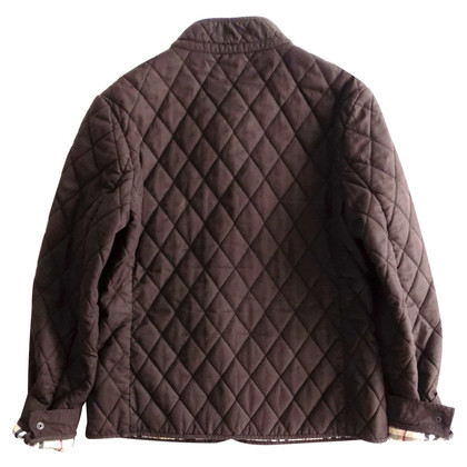 Burberry Quilted Jacket in Brown