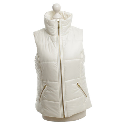 Juicy Couture Gilet in Crema