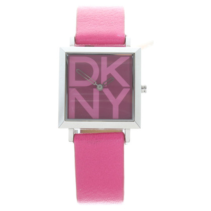 DKNY Watch in pink