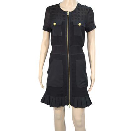 Armani zijden jurk in zwart