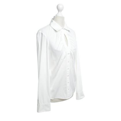 Steffen Schraut Klassische Bluse in Weiß