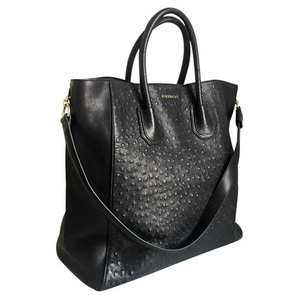 Givenchy Struisvogel Shopping Tote Bag