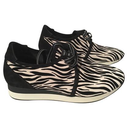 Max Mara scarpe da ginnastica a motivi geometrici