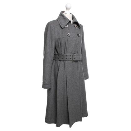 Steffen Schraut Coat of flannel
