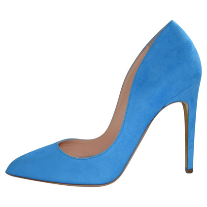 Rupert Sanderson Elba Azure / Camoscio Blu pumps