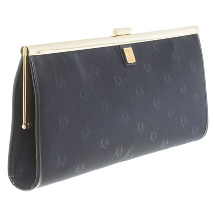 Christian Dior Clutch in Blau