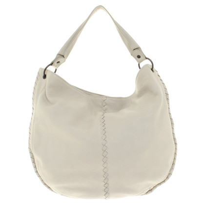"Bottega Veneta ""Hobo Bag"" in cream"