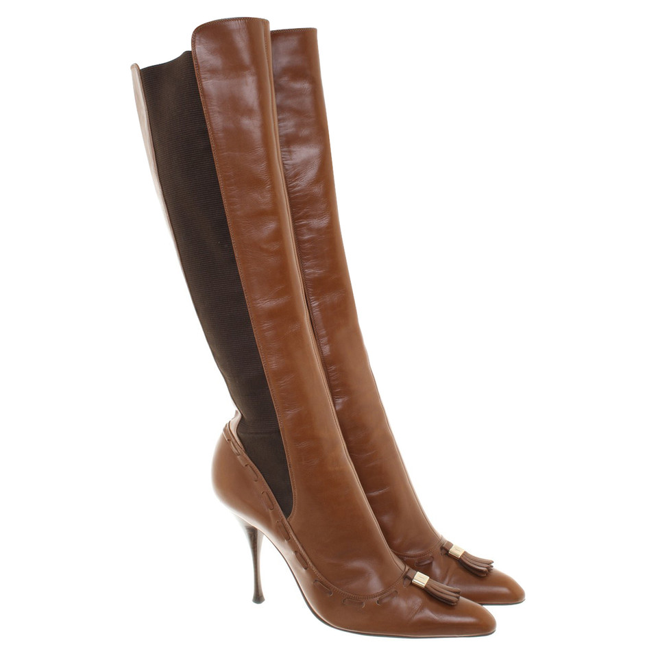 Yves Saint Laurent Boots with spiked heel