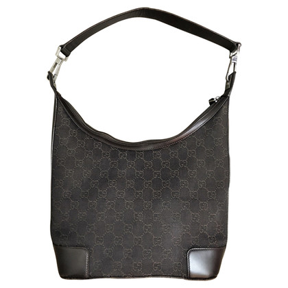 Gucci Hobo Bag met Guccissima patroon