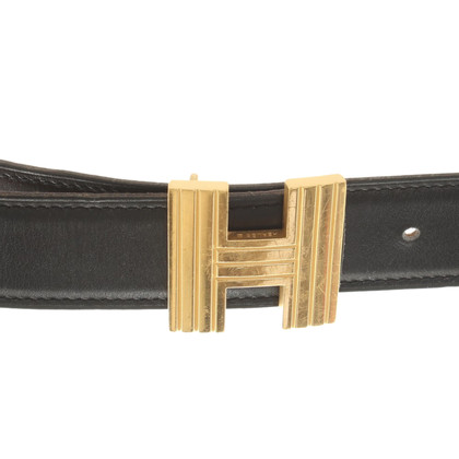 Hermès Wendegürtel aus Leder