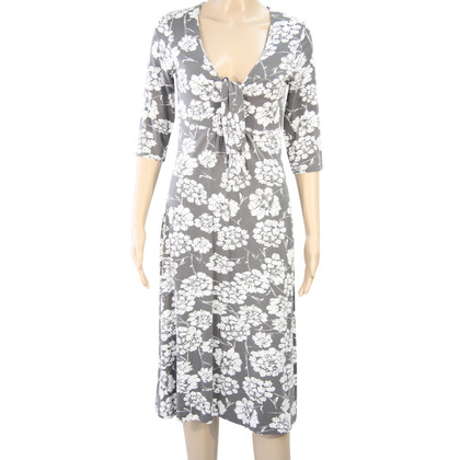 L.K. Bennett Floral dress in grey