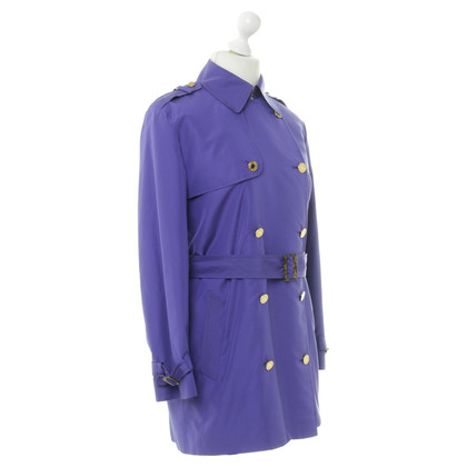 Ralph Lauren Trench coat in viola