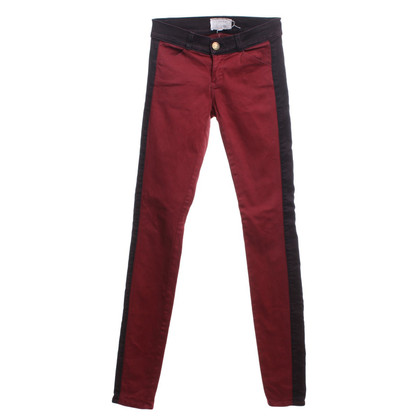 Current Elliott Skinny jeans Rouge / Bordeaux