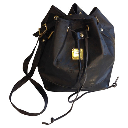MCM Vintage pouch bag in black