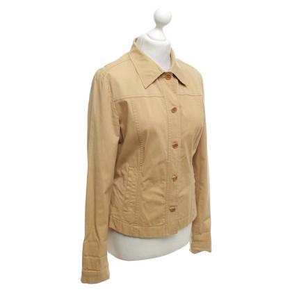 René Lezard giacca leggera in beige