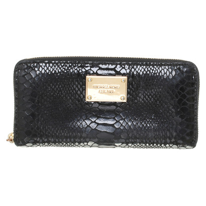 "Michael Kors ""Jet Set Continental ZA"" in black"