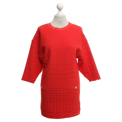 Elisabetta Franchi Knit dress in red