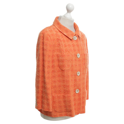 Bogner Sônia Bogner - bouclé blazer in Orange