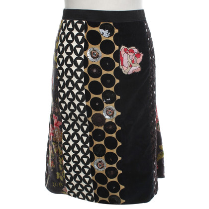 Maliparmi skirt in patchwork look