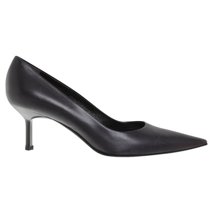 Jil Sander Pumps in Anthrazit